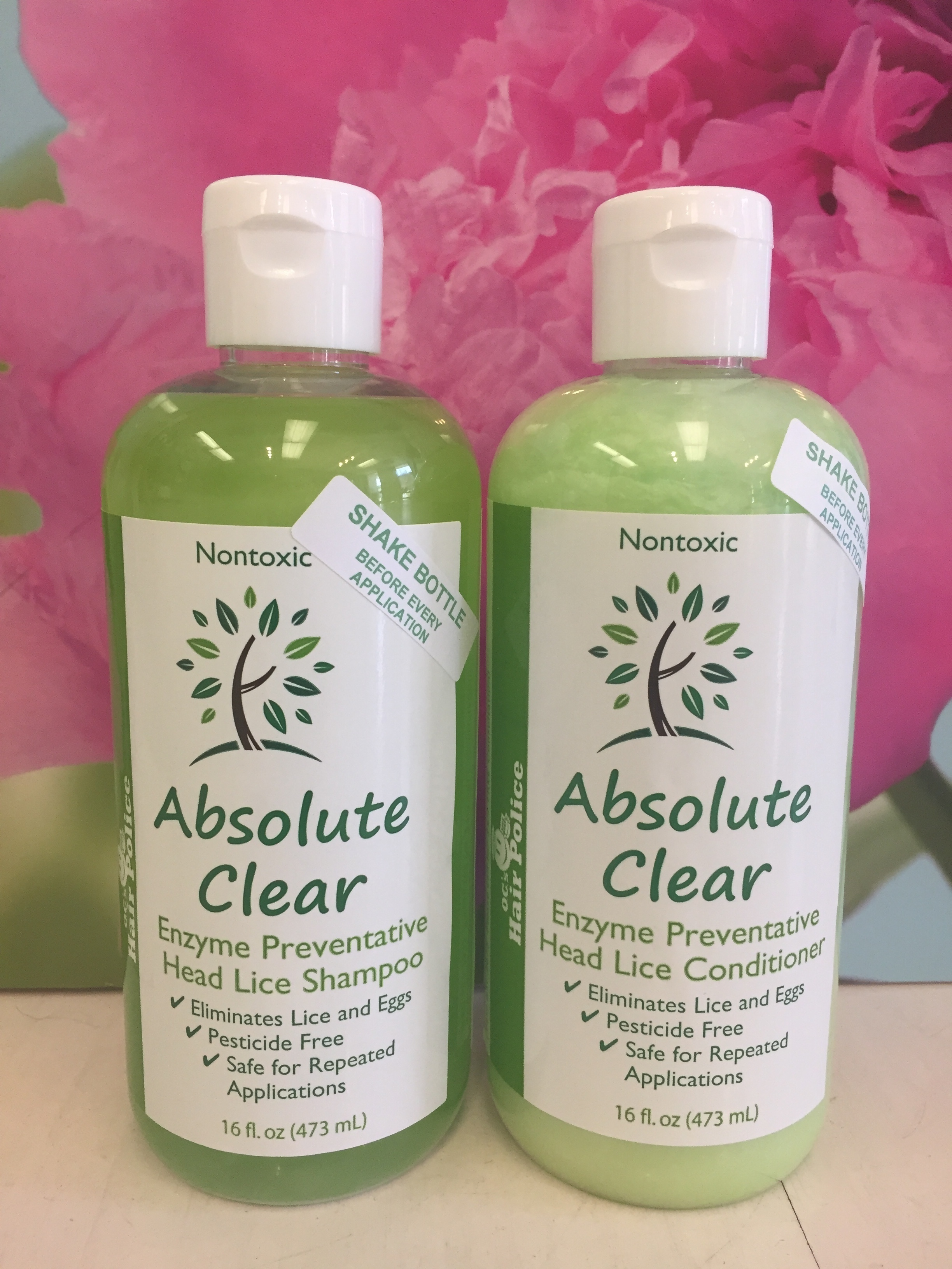Lice Removal Shampoo and Conditioner