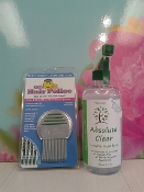 Lice Removal Shampoo and Comb