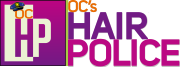 Hair Police Lice Line Logo